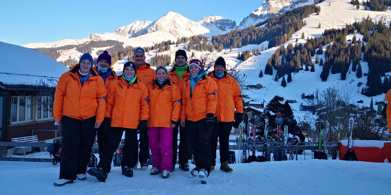 Auch zu Corona-Zeiten ist am Adelboden Ski-Weltcup auf die MG Messen Verlass!