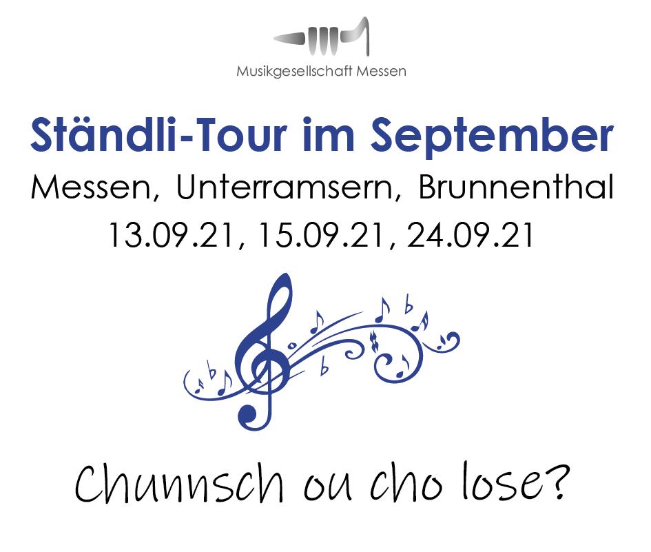 Ständli-Tour im September